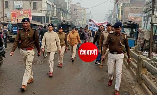 सड़क सुरक्षा सप्ताह कार्यक्रम के तहत रक्सौल में निकली जागरूकता रैली