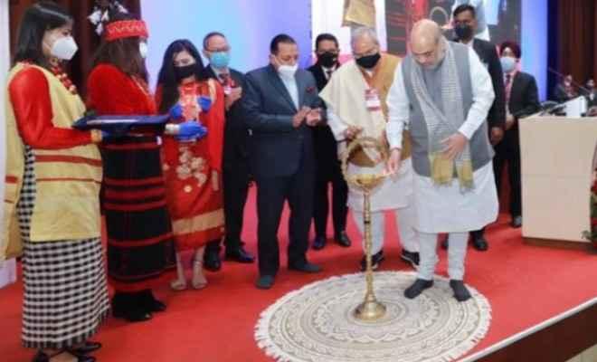 केन्द्रीय गृह मंत्री श्री अमित शाह ने शिलांग में पूर्वोत्तर परिषद (एनईसी) की 69 वीं बैठक की अध्यक्षता की