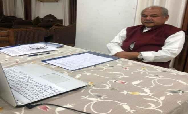 किसानों के लिए नगदी की कमी दूर करेगा साढ़े 16 लाख करोड़ रू.का बजट- श्री तोमर