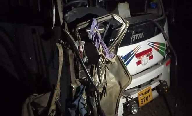 समस्तीपुर : भीषण सड़क हादसे में बस व बोलेरो की हुई टक्कर, बिथान की चार छात्राओं की मौत, दर्जन भर जख्मी