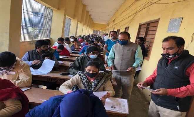 के.सी.टी.सी. रक्सौल कॉलेज में इग्नू की दिसंबर सत्रांत परीक्षा कदाचार मुक्त शांतिपूर्ण ढंग से चल रही