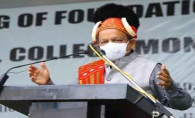 केंद्रीय स्वास्थ्य मंत्री डॉ हर्षवर्धन ने नागालैंड में मोन मेडिकल कॉलेज की आधारशिला रखी