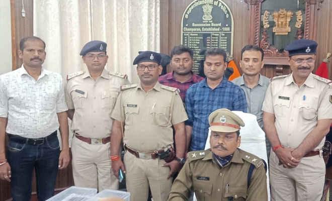 मोतिहारी के सुपारी किलर का झारखंड में भी डिमांड, धनबाद में व्यवसायी की हत्या के दो आरोपित सुगौली से गिरफ्तार, यहां भी करनेवाले थे प्रोपर्टी डीलर का मर्डर