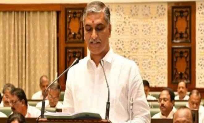 तेलंगाना: वित्तमंत्री हरीश राव ने आज वित्तवर्ष 2021-22 का बजट किया पेश