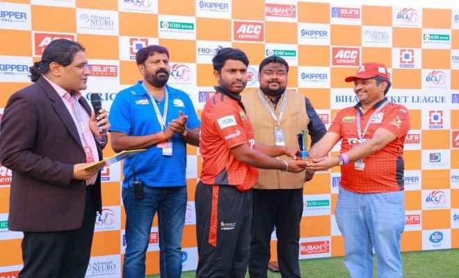 अंगिका एवेंजर्स ने पटना पाइलट्स को 6 विकेट से हराया