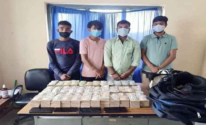 रक्सौल: 82 लाख पचास हजार नेपाली रकम के साथ हुण्डी कारोबारी गिरफ्तार