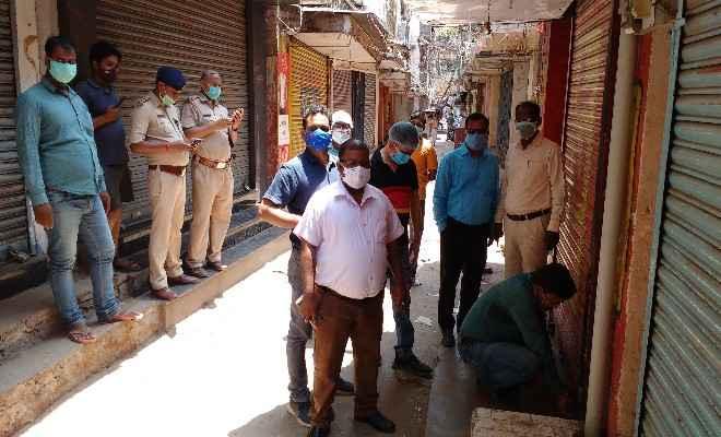रक्सौल: लॉकडाउन के उल्लंघन मामले में कई दुकानें सील