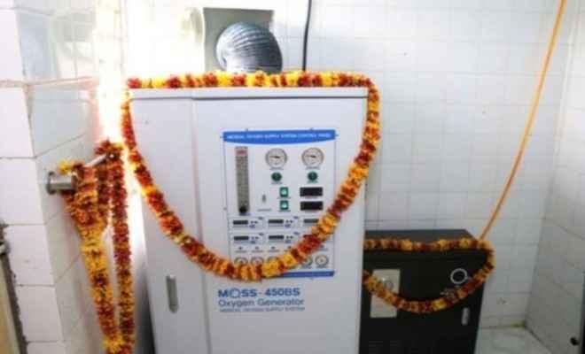 एनटीपीसी रिहंद में मेडिकल ऑक्सीजन सप्लाइ सिस्टम (MOSS) की स्थापना