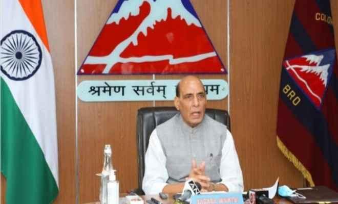 रक्षा मंत्री राजनाथ सिंह ने रक्षा क्षेत्र में नवाचार के लिए 498.8 करोड़ रुपये की बजटीय सहायता को दी मंजूरी