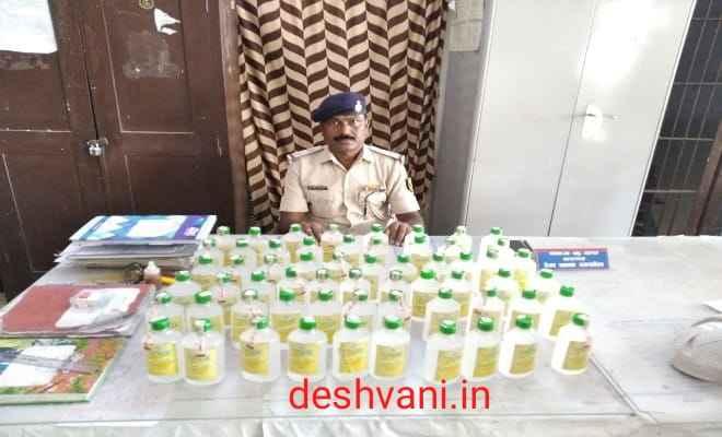रक्सौल: रेल पुलिस ने भारी मात्रा में बरामद की नेपाली शराब