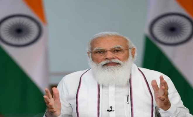 प्रधानमंत्री ने गुजरात में प्रधानमंत्री गरीब कल्याण अन्न योजना के लाभार्थियों से की बातचीत