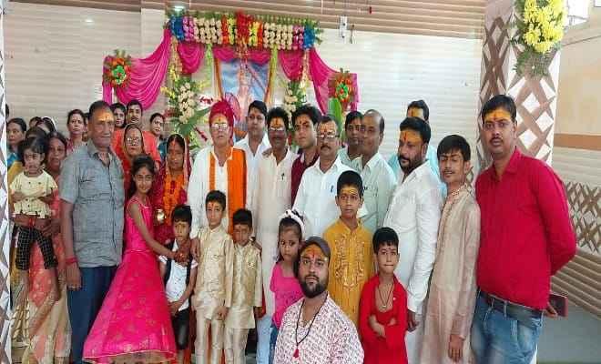 रक्सौल: कलवार कल्याण समिति द्वारा हुआ श्री बलभद्र पूजनोत्सव का आयोजन