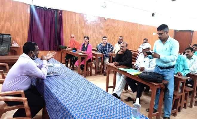 बेतिया में नवम कक्षा की पढ़ाई उन्नयन बिहार, डिजिटल लंर्निग में बुधवार से प्रारंभ की जाएगी: राजन कुमार