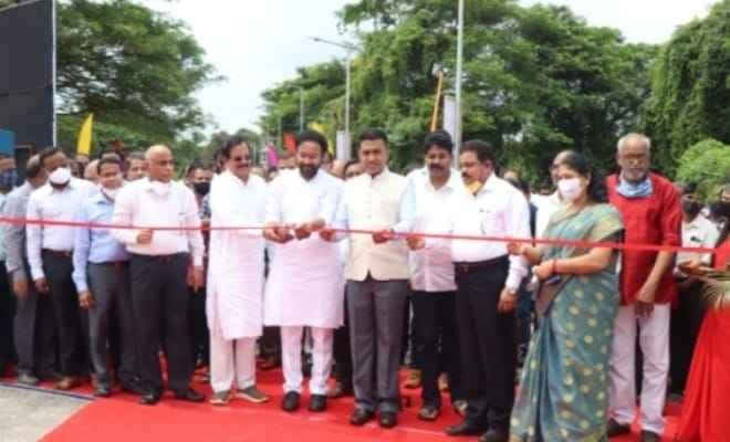 ओल्ड गोवा में नवीनीकृत हेलीपैड का उद्घाटन किया गया