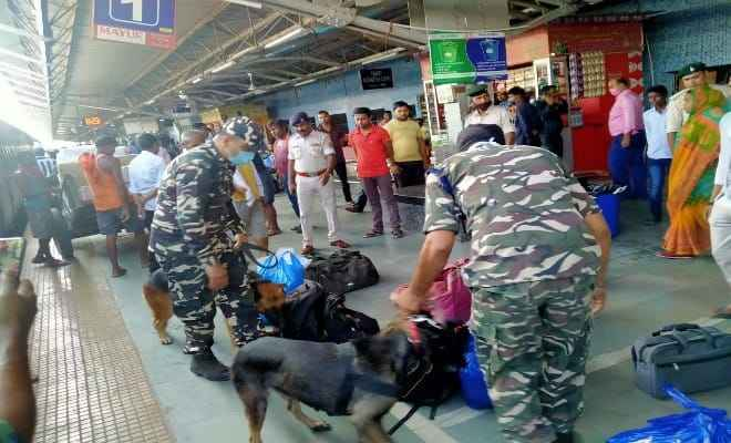 पाकिस्तान के 2 आतंकियों की गिरफ्तारी के बाद बिहार में एलर्ट जारी, रेलवे स्टेशन और ट्रेनों में हुई सघन जांच