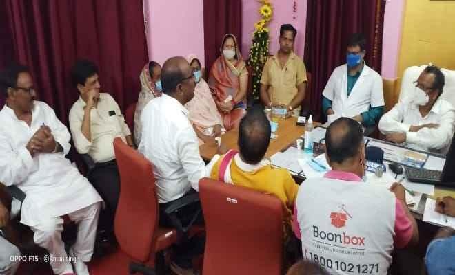 बगहा: रोगी कल्याण समिति की बैठक हुई सम्पन्न